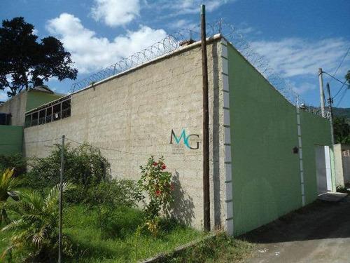 Imagem 1 de 16 de Galpão, 400 M² - Venda Por R$ 328.000,00 Ou Aluguel Por R$ 3.200,00/mês - Campo Grande - Rio De Janeiro/rj - Ga0027