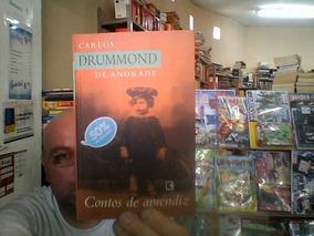 Livro Contos De Aprendiz De Carlos Drummond De Andrade