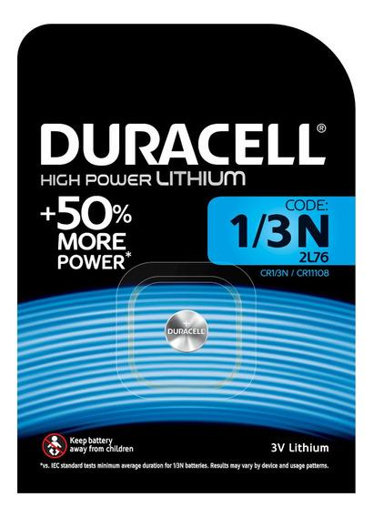 Bateria Duracell 1/3n 3v ( 2l76 Cr1/3n Cr11108 )