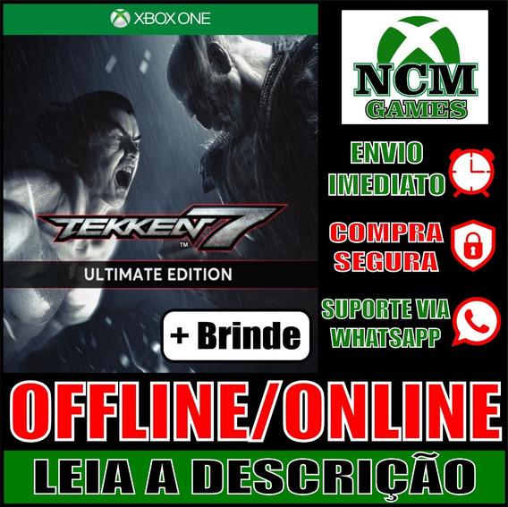 Tekken 7 Edição Definitiva Xbox One Offline/ Online + Brinde