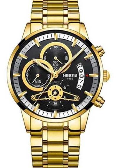 Relógio Masculino.marca Nibosi Original 2309