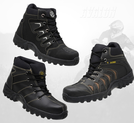 Kit 3 Tênis Adventure Bota Masculina