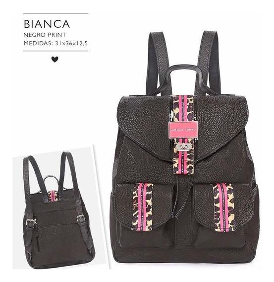 Mochila Bianca Print - Antonia Agosti- Diva Addict