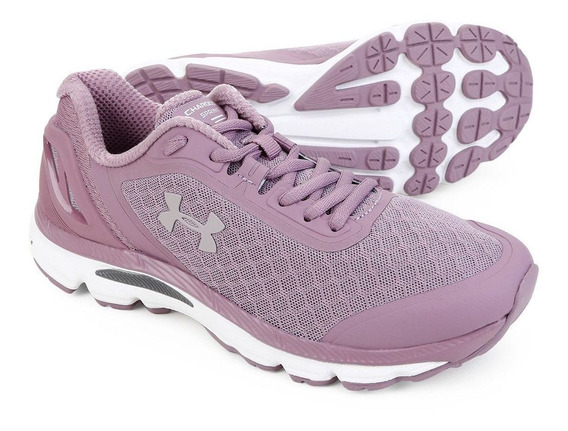 Tenis Under Armour Adulto Mesh - Charged Sprint