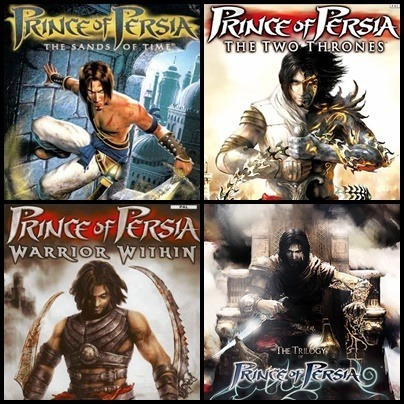 Ps2 - Prince Of Persia - 3 Dvds - Patch Desbloqueado