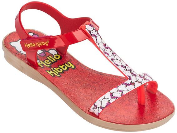 Sandalia Hello Kitty Color Rojo Sand Todo Dia 23 Al 34