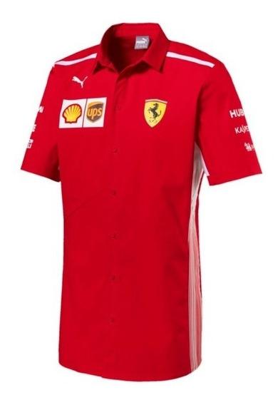 Camisa Polo Original Puma Formula 1 Escuderia Ferrari 2018