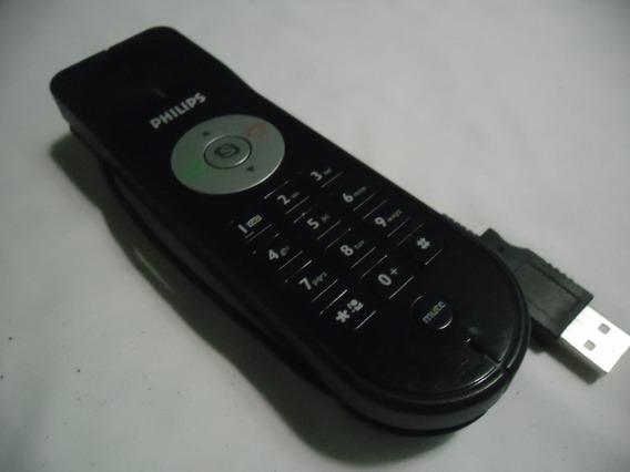Telefone Fhilips Usb Para Skype Computador E Notebook.