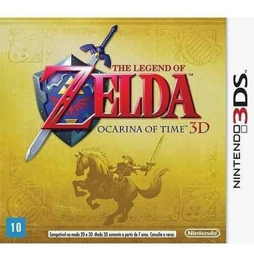 Cartucho 3ds - The Legend Of Zelda: Ocarina Of Time 3d