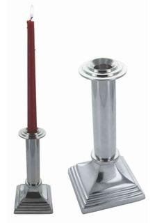 Candelabro Columna Aluminio 20cm - El Clon