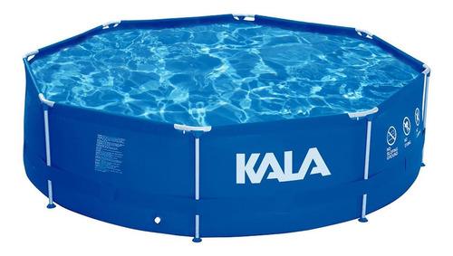 Piscina estrutural redonda Kala 926680 com capacidade de 6700 litros de 360cm de diâmetro