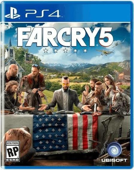 Far Cry 5 Ps4 Primária Vitalício