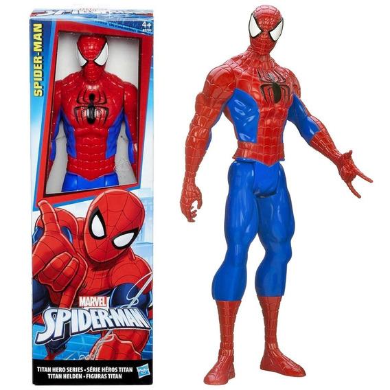 Figura Accion Spider-man Hasbro Hombre-araña 30 Cm Muñeco