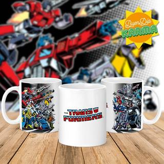 Taza Transformers Classic - Ceramica Importada. Buendiakarma