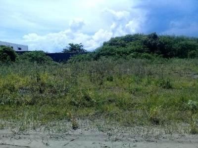 Terreno Com 1000 M² Em Itanhaém, Confira - 4992/p