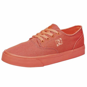 Tenis Dc Mujer Coral Casuales Flash 2 Tx Mx Adjs300194