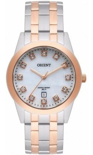 Relógio Orient Feminino Ftss1113 B1sr * Swarovski Elements