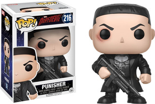 Funko Pop! Daredevil Punisher 216 Envio Incluido