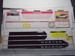 Friso Lateral Porta Renault Duster Preto Nacre Original