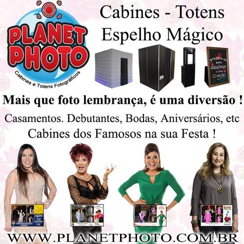 Cabine - Totens - Espelho Mágico Para Festas