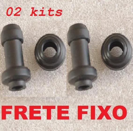 02 Kits -- Reparo Pinça Freio Borracha Caliper - Motos