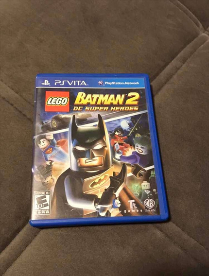 Jogo Lego Batman 2 Ps Vita Em Mídia Física