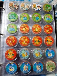 Taps Pokemon 1 Y 2 Tazos Chipi