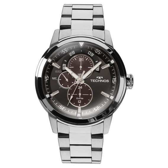 Relógio Masculino Technos Grandtech 6p57ad/1p - Prata