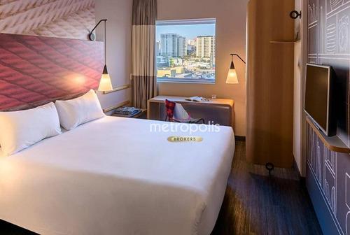 Imagem 1 de 6 de Hotel À Venda, 19 M² Por R$ 350.000,00 - Jardim Do Mar - São Bernardo Do Campo/sp - Ho0013