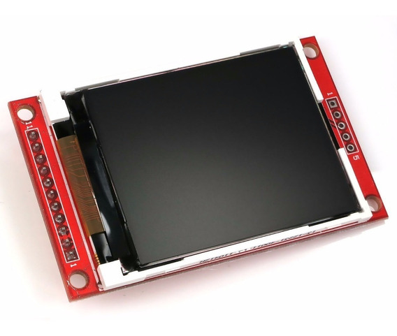 Modulo Display Tft 2.4 Color Touch Spi Arduino Raspberry Arm