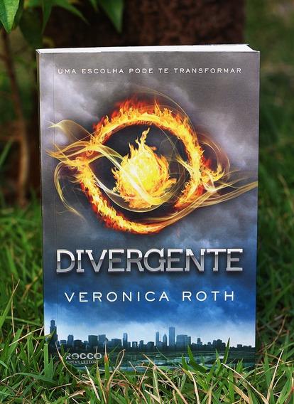 Livro Divergente - Volume 1 - Veronica Roth