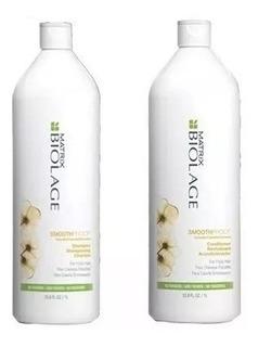 Shampoo + Acondicionador Litro Matrix Smoothproof - Antifriz