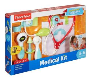 Fisher Price Kit Medico Estetoscopio Con Sonido Bunny Toys