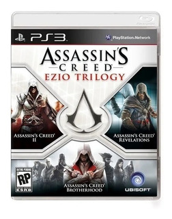Assassins Creed Ezio Trilogy Ps3 Fisico Sellado Sevengamer