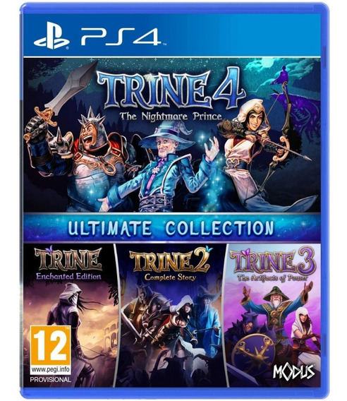 Trine Ultimate Collection Ps4 Lançamento