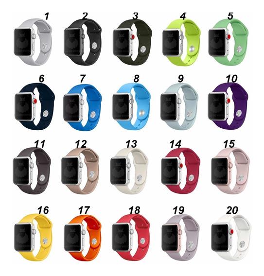 Pulseira Sport Para Apple Watch38/40/4244mm Series 1,2,3,4