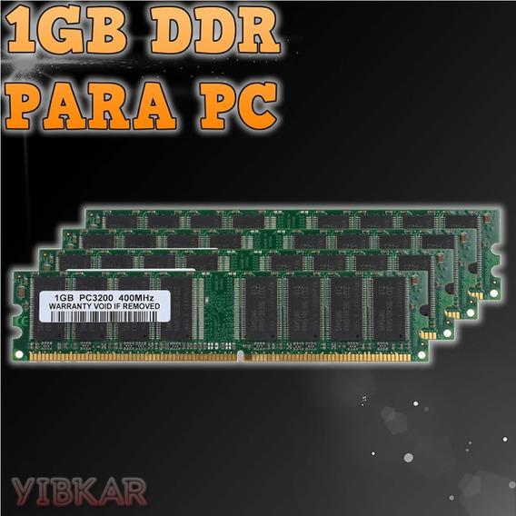 Memoria 1 Gb Ddr 400 Mhz Pc-3200 Para Pc Nueva!!!
