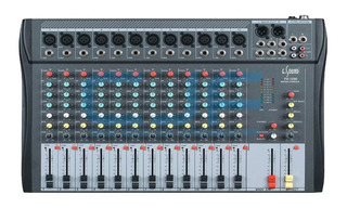 Consola Mixer 12 Canales Esound Fx 1230 Con Efectos