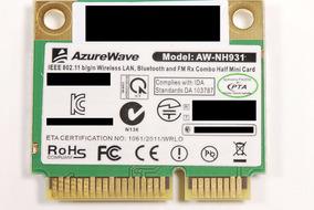 Placa Wifi + Bluethooth Azurewave Aw-nh931