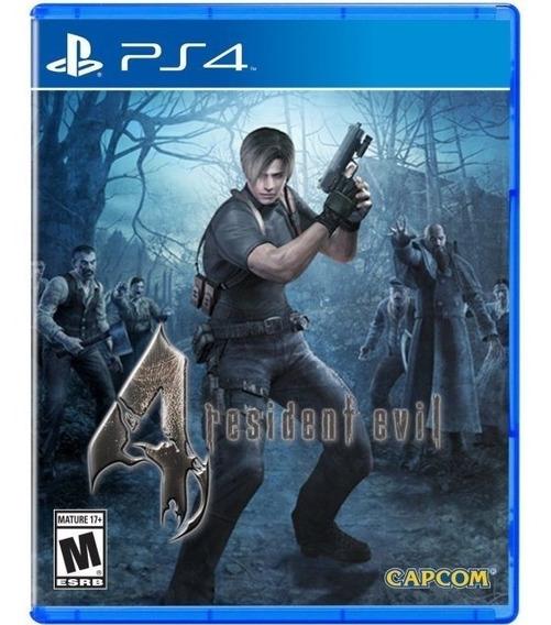 Jogo Game Resident Evil 4 Playstation 4 Novo Lacrado Ps4