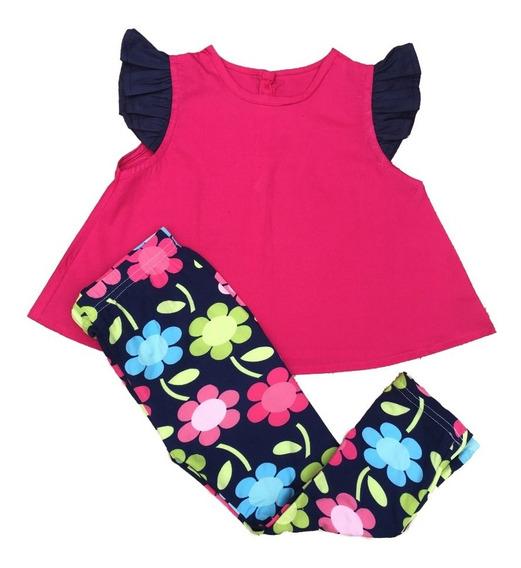 Conjunto Menina 2 Anos: Legging + Blusa
