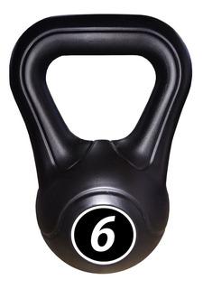 Pesas Rusas Kettlebell Plastica 6kg Fitness Deporte Funcional Functional