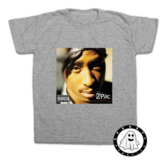 Remera Tupac Shakur 2pac Rap Hip Hop Algodón