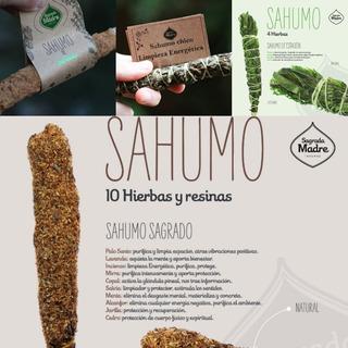 Kit Sahumos Sandalo +10 Hierbas+de Estacion +chico Limpieza