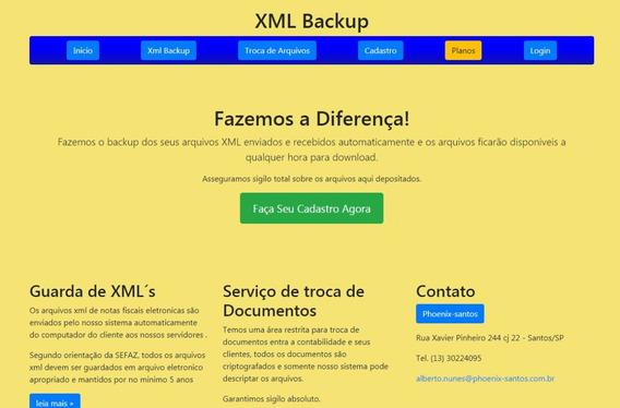 Sistema Backup De Xml Em Nuvem