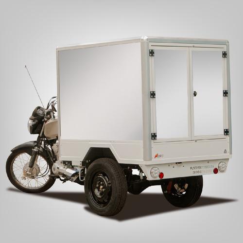 Triciclo De Carga Fusco F - Baú - Transporta 300kg