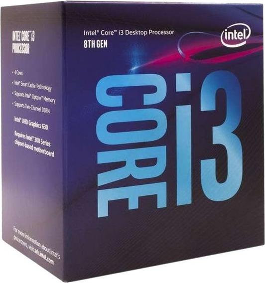 Kit 8 Gen 1151 Intel Core I3 8100 + H310m + 8gb Ddr4 2400 Mh
