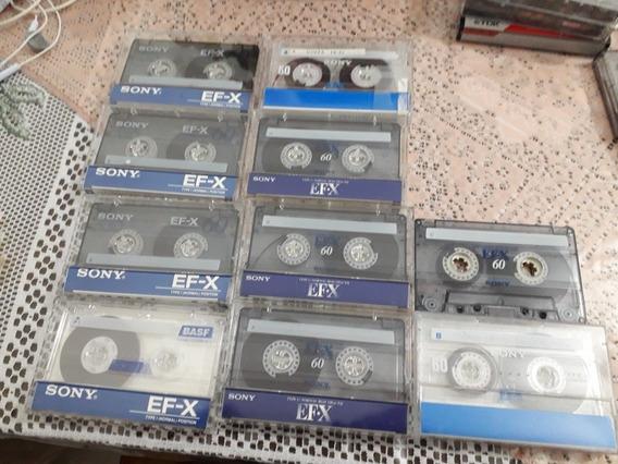 Fitas Cassette - 60m E 90m - Usadas