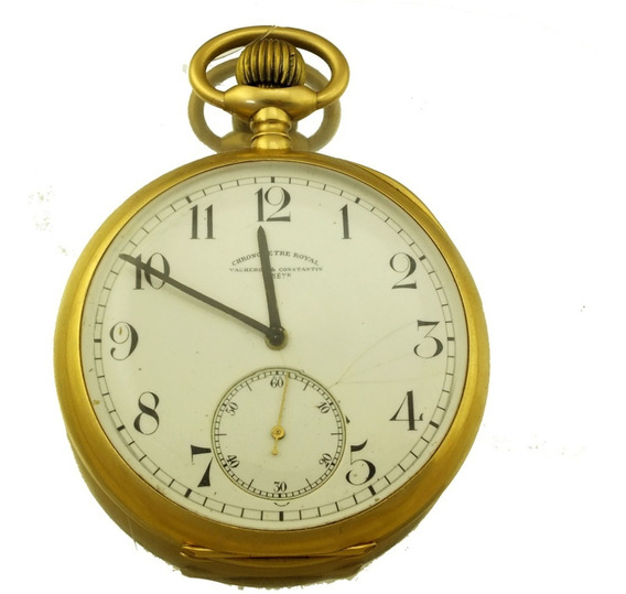 Relógio Bolso Vacheron Constantin Por Do Sol Ouro 18k J12079