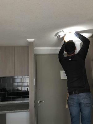 Instalación Cortinas, Lámparas Plafones, Lavadoras Y Rack Tv